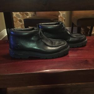 Vintage Timberland Black Men's Chukka Hiker Boots